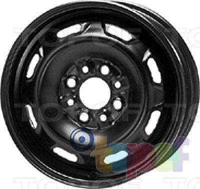 Колесные диски KFZ 4220. Изображение модели #1