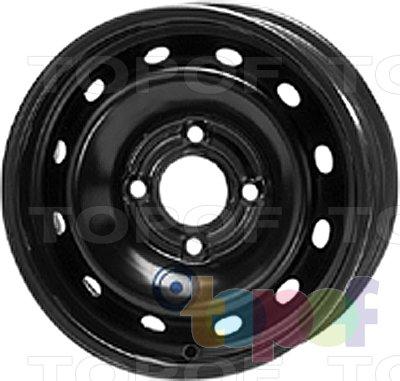 Колесные диски KFZ 4240. Изображение модели #1