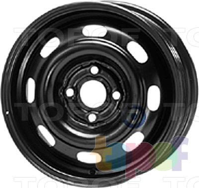 Колесные диски KFZ 4310. Изображение модели #1