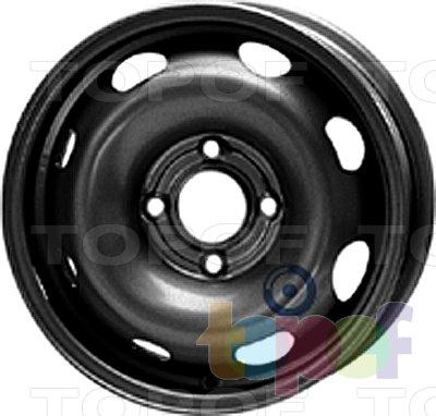 Колесные диски KFZ 4440. Изображение модели #1