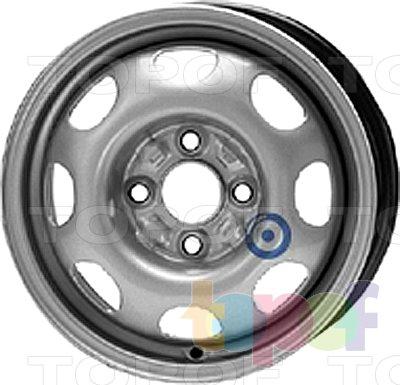 Колесные диски KFZ 4640. Изображение модели #1