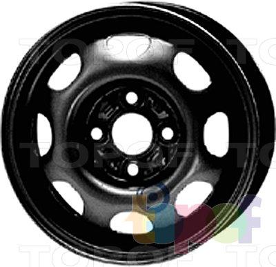 Колесные диски KFZ 4645. Изображение модели #1