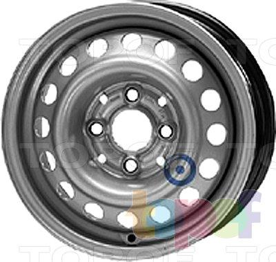 Колесные диски KFZ 4700. Изображение модели #1