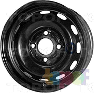 Колесные диски KFZ 4860. Изображение модели #1
