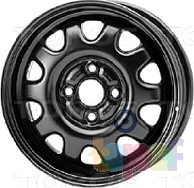 Колесные диски KFZ 4910. Изображение модели #1
