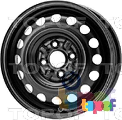 Колесные диски KFZ 4940. Изображение модели #1