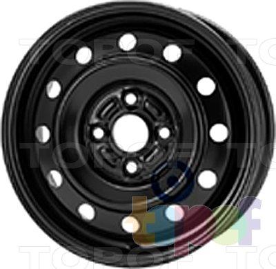 Колесные диски KFZ 5155. Изображение модели #1