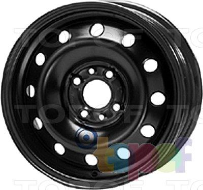 Колесные диски KFZ 5180. Изображение модели #1