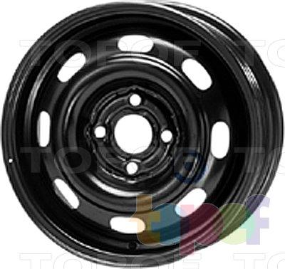 Колесные диски KFZ 5190. Изображение модели #1