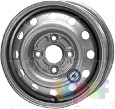 Колесные диски KFZ 5240. Изображение модели #1