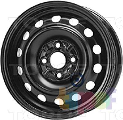 Колесные диски KFZ 5265. Изображение модели #1