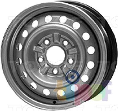 Колесные диски KFZ 5350. Изображение модели #1