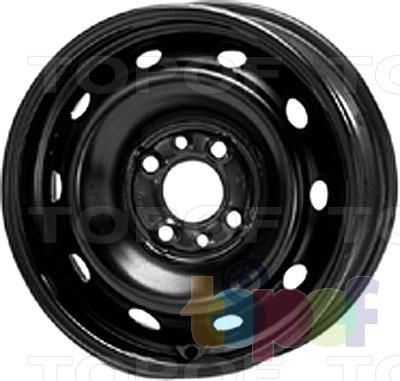 Колесные диски KFZ 5460. Изображение модели #1