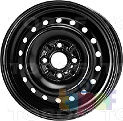 Колесные диски KFZ 5645. Изображение модели #1