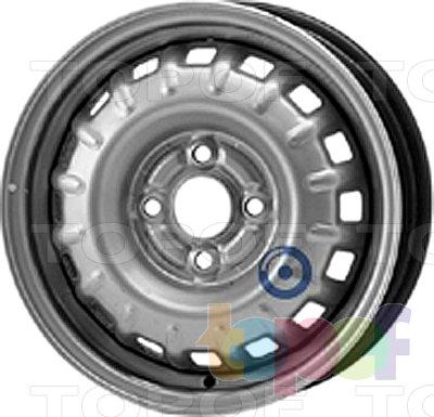 Колесные диски KFZ 5650. Изображение модели #1