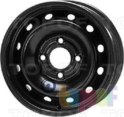 Колесные диски KFZ 5660. Изображение модели #1