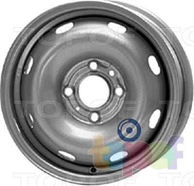Колесные диски KFZ 5715. Изображение модели #1