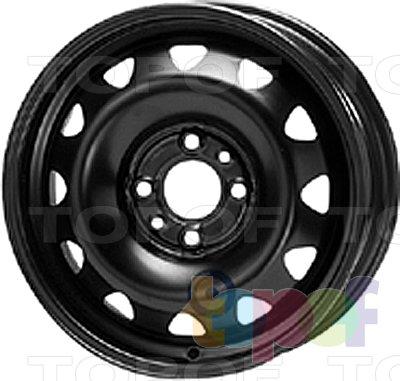 Колесные диски KFZ 5740. Изображение модели #1