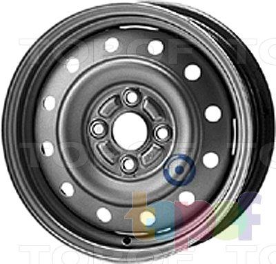 Колесные диски KFZ 5750. Изображение модели #1