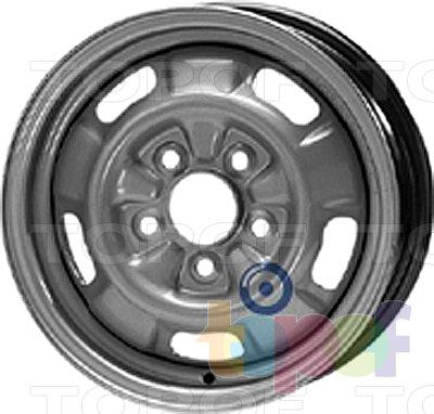 Колесные диски KFZ 5840. Изображение модели #1