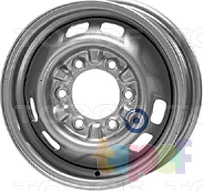 Колесные диски KFZ 5890. Изображение модели #1