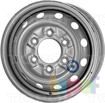 Колесные диски KFZ 5915. Изображение модели #1