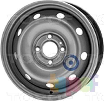 Колесные диски KFZ 6005. Изображение модели #1