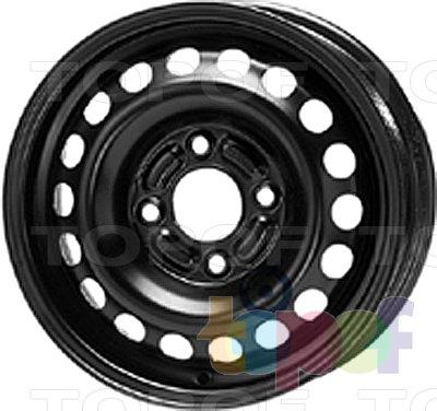 Колесные диски KFZ 6025. Изображение модели #1