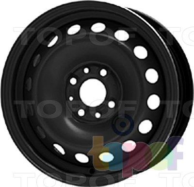 Колесные диски KFZ 6045. Изображение модели #1