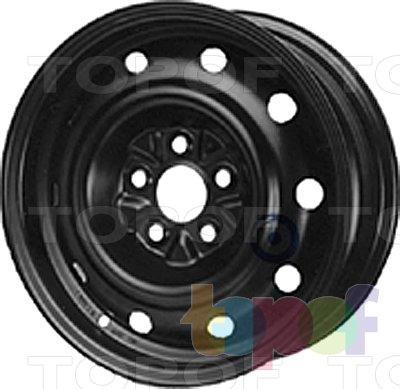 Колесные диски KFZ 6050. Изображение модели #1
