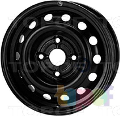 Колесные диски KFZ 6070. Изображение модели #1