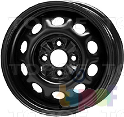 Колесные диски KFZ 6100. Изображение модели #1
