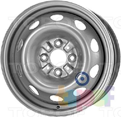 Колесные диски KFZ 6125. Изображение модели #1