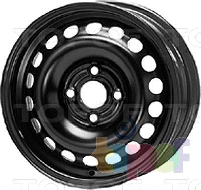Колесные диски KFZ 6160. Изображение модели #1