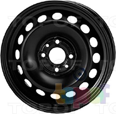 Колесные диски KFZ 6165. Изображение модели #1