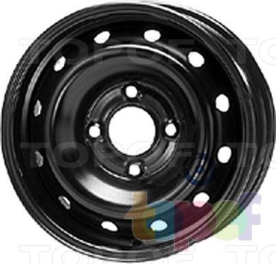 Колесные диски KFZ 6195. Изображение модели #1