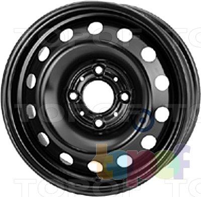 Колесные диски KFZ 6215. Изображение модели #1
