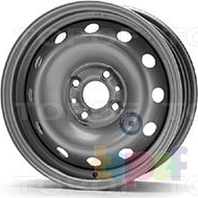Колесные диски KFZ 6225. Изображение модели #1