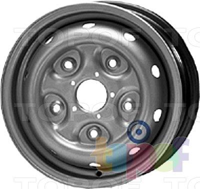 Колесные диски KFZ 6250. Изображение модели #1
