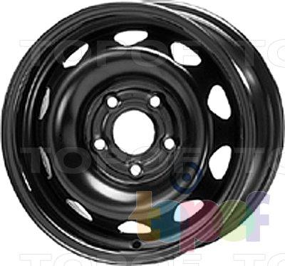 Колесные диски KFZ 6270. Изображение модели #1