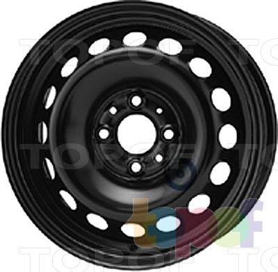 Колесные диски KFZ 6315. Изображение модели #1