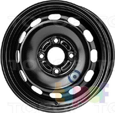 Колесные диски KFZ 6355. Изображение модели #1