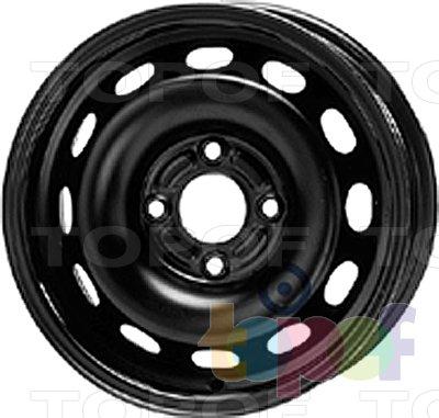 Колесные диски KFZ 6360. Изображение модели #1