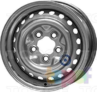 Колесные диски KFZ 6370. Изображение модели #1