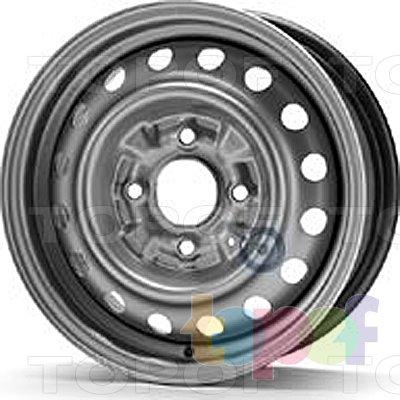 Колесные диски KFZ 6375. Изображение модели #1