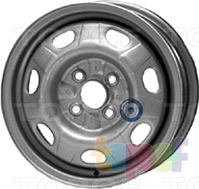 Колесные диски KFZ 6380. Изображение модели #1