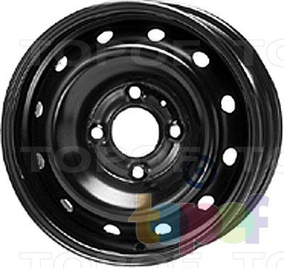 Колесные диски KFZ 6390. Изображение модели #1