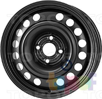 Колесные диски KFZ 6435. Изображение модели #1