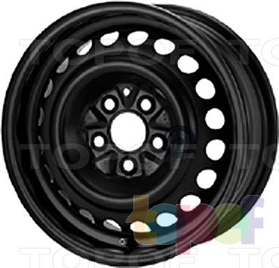 Колесные диски KFZ 6475. Изображение модели #1
