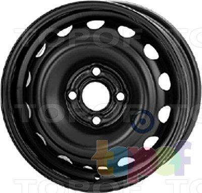Колесные диски KFZ 6480. Изображение модели #1